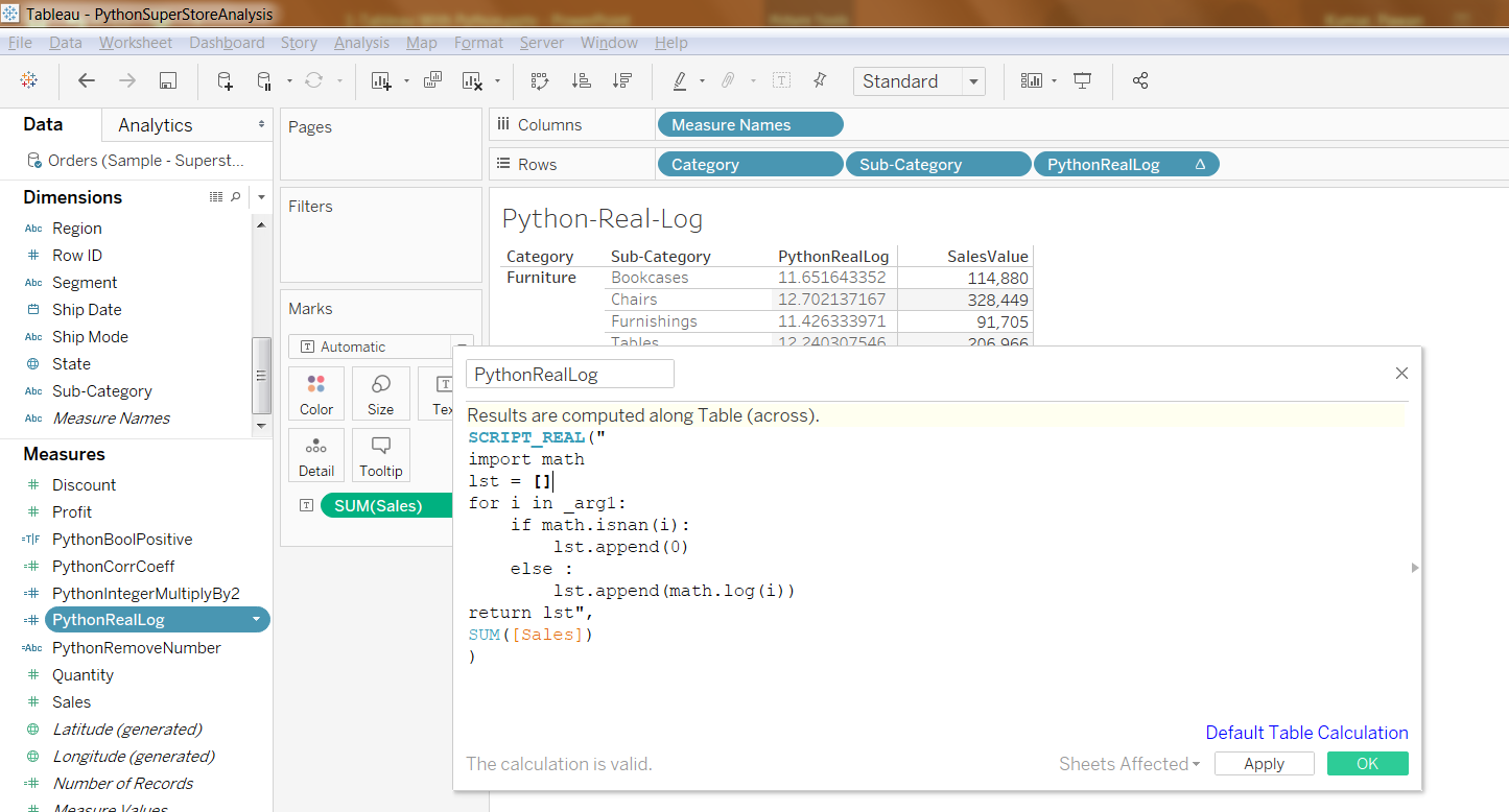 Python Integration with Tableau And Running Python Scripts inside Tableau 41