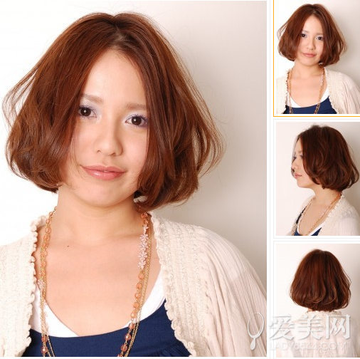 Save the older female age personality PEARL hair head model