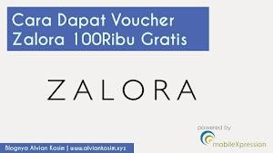 Cara Dapet Voucher Zalora 100Ribu Gratis 2018 Belanja di Zalora Gratis | Blognya Alvian Kosim