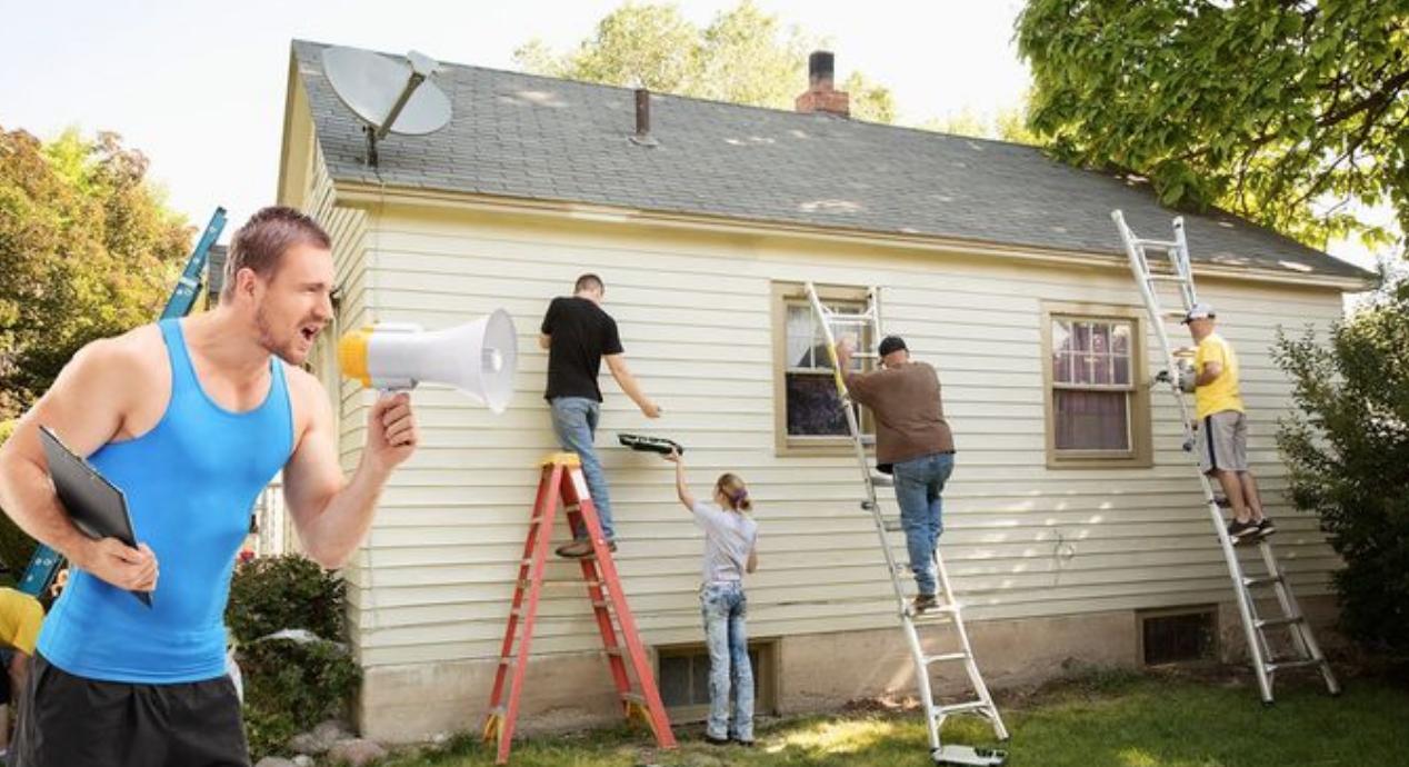 repairing a home