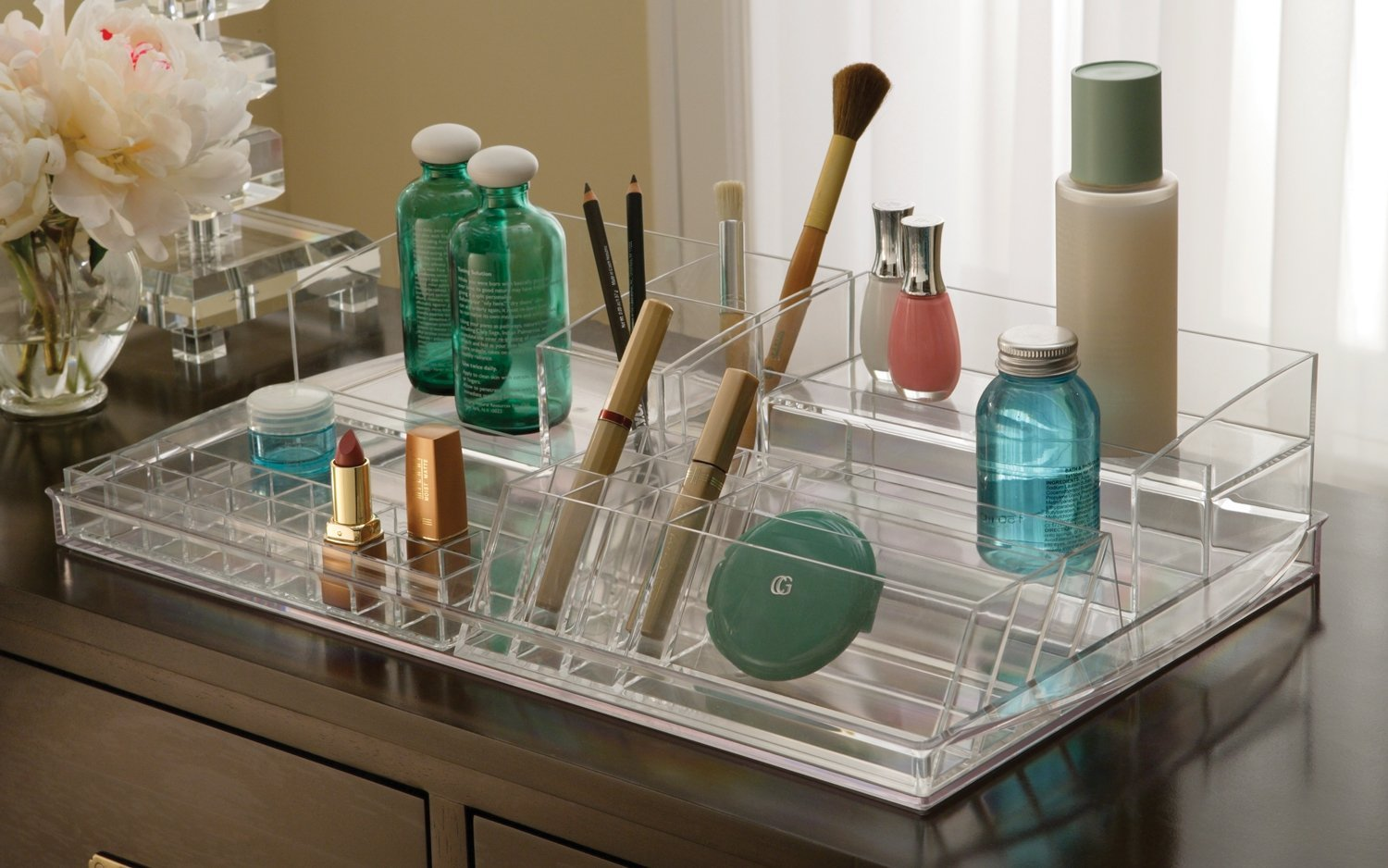 Bathroom makeup organizers - Bathroom Makeup Organizers
