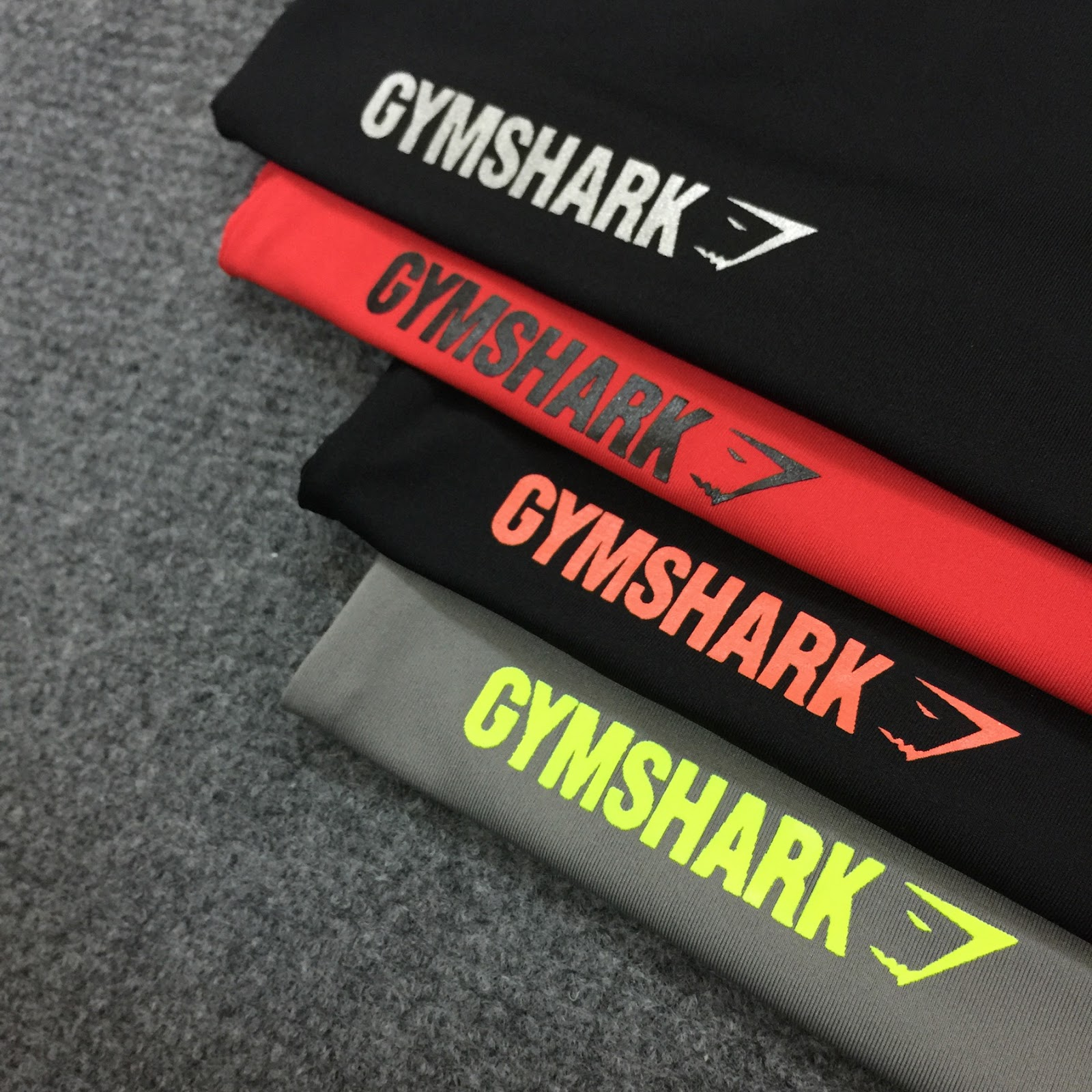 Gymshark Tshirt 2016 Made in Thailand