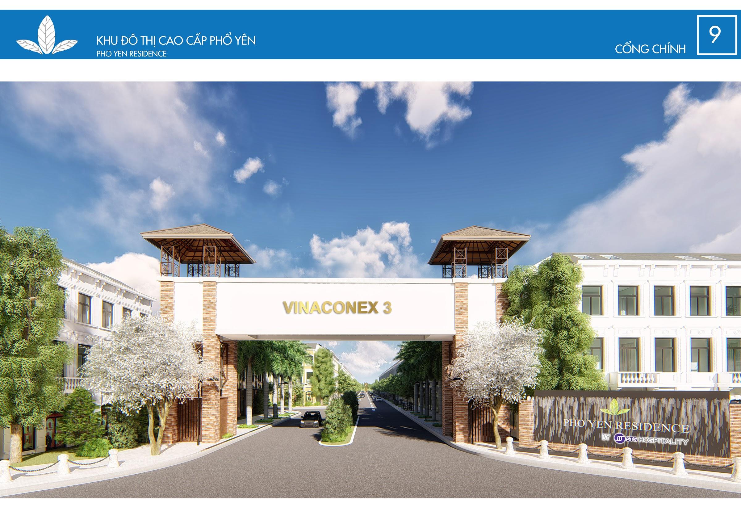 Dự án Phổ Yên Residence | Vinaconex 3 Phổ Yên Thái Nguyên