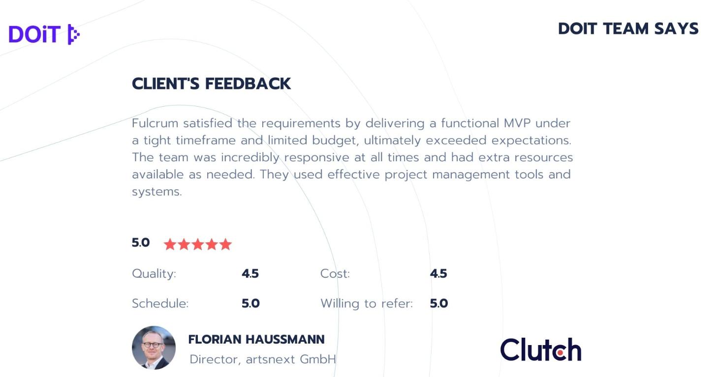 Fulcrum rocks feedback