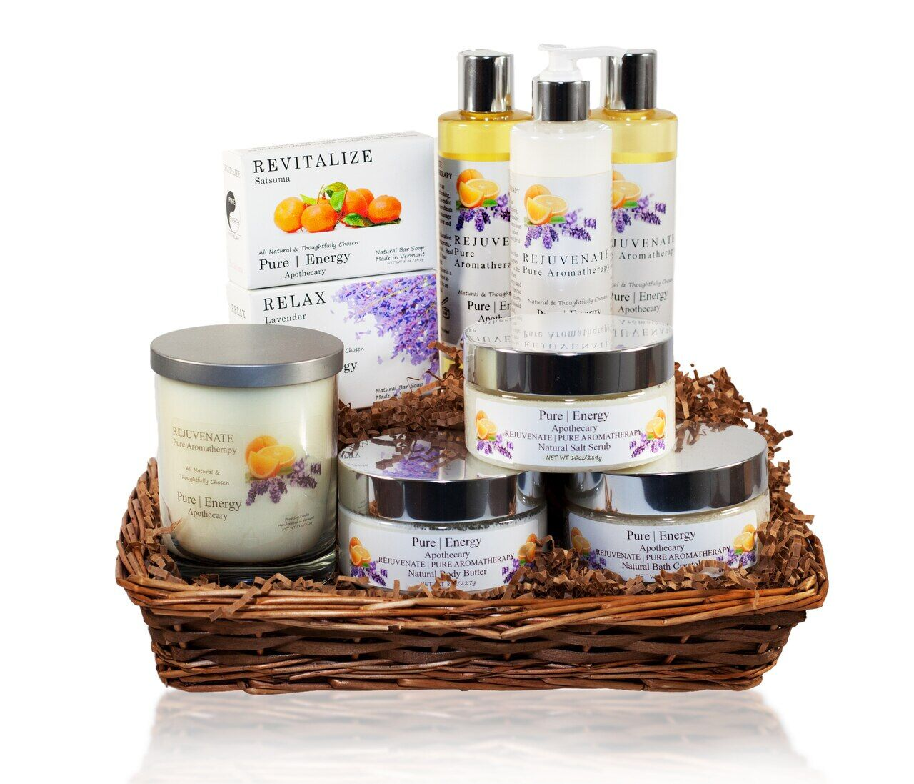 basket of lotions