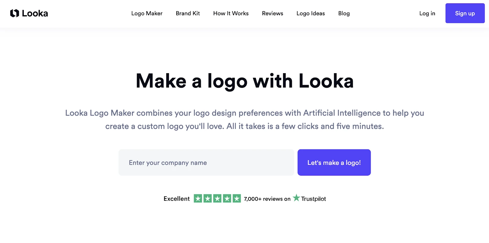 Looka - Shopify logo generator
