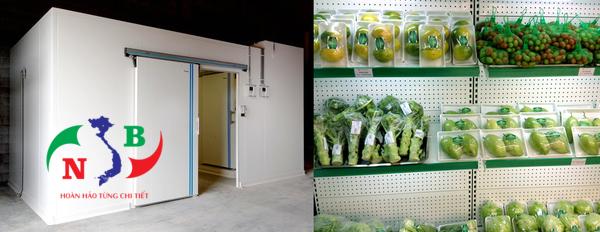 Dịch vụ lắp đặt kho lạnh trái cây chuyên nghiệp, hiện đại