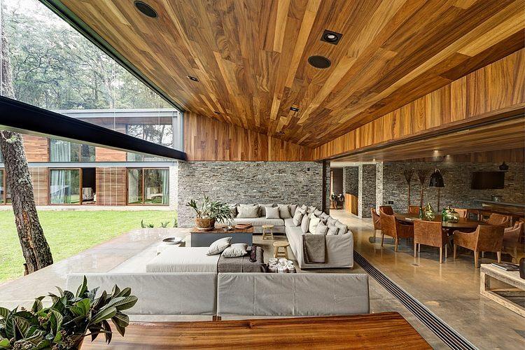 dosis arquitectura dos hermosas casas contempor neas por el as rizo arquitectos tapalpa m xico. Black Bedroom Furniture Sets. Home Design Ideas