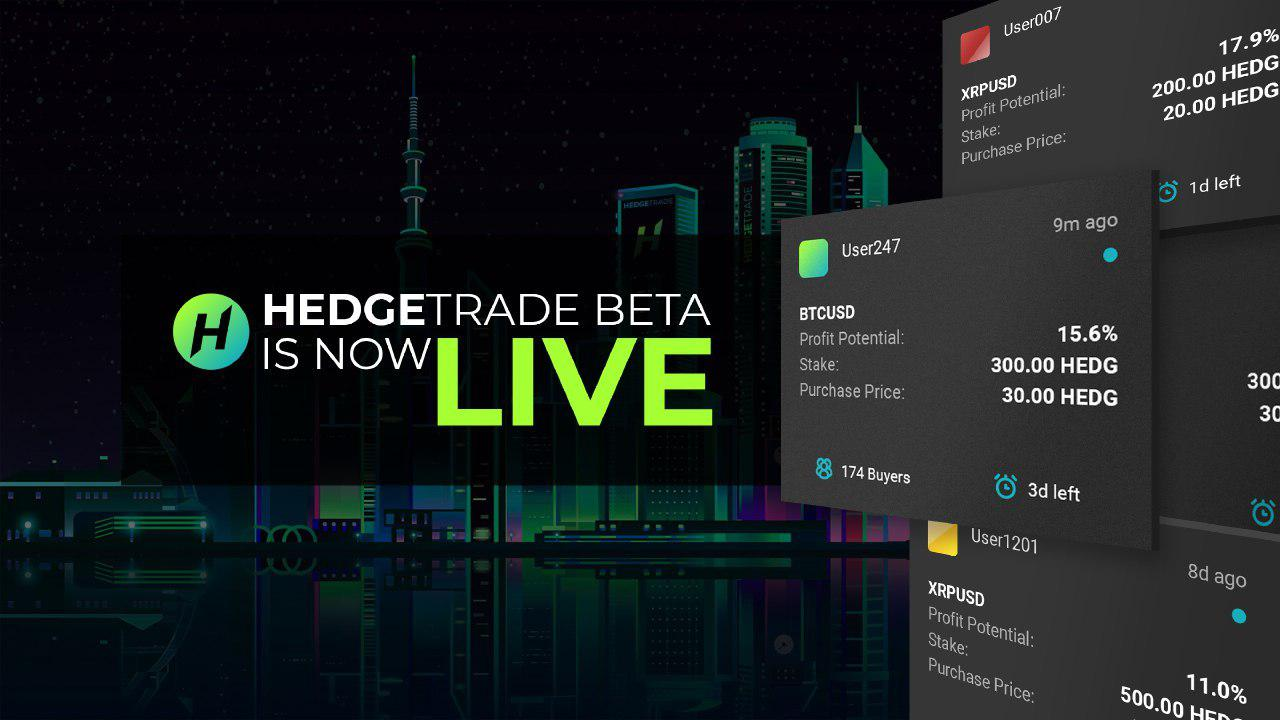 HedgeTrade is now Live!