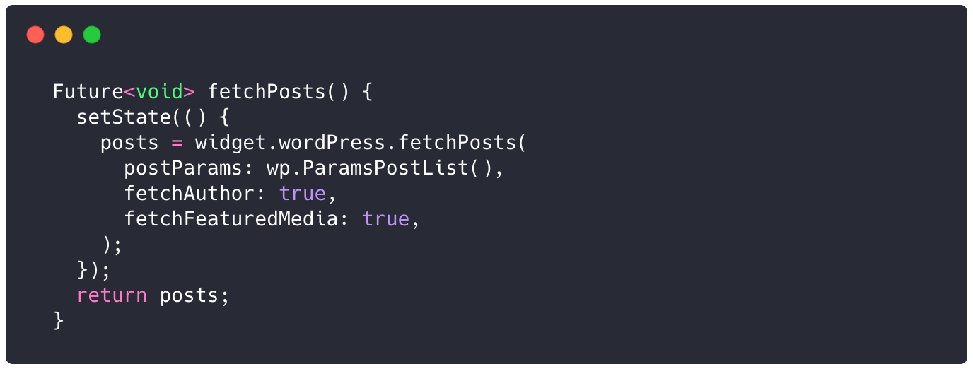 Flutter. ¿Cómo conectar con WordPress?