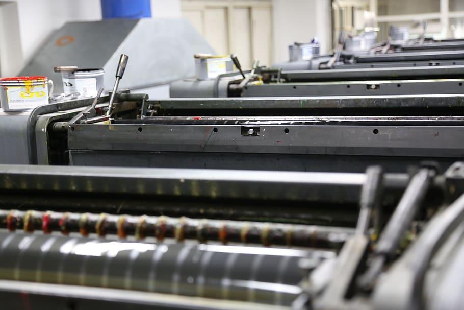 Современное оборудование типографии