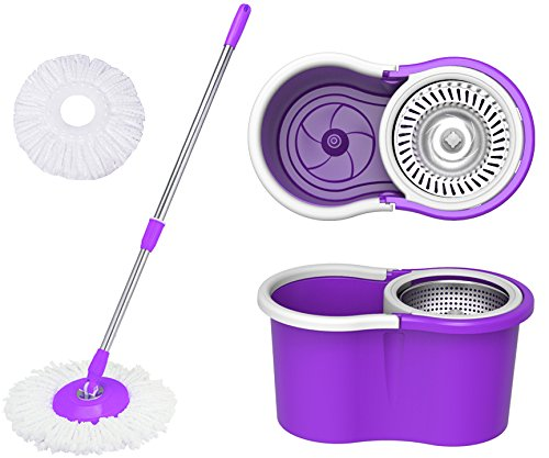 Eco Alpine 360 Degree Magic Spin Floor Cleaning Mop