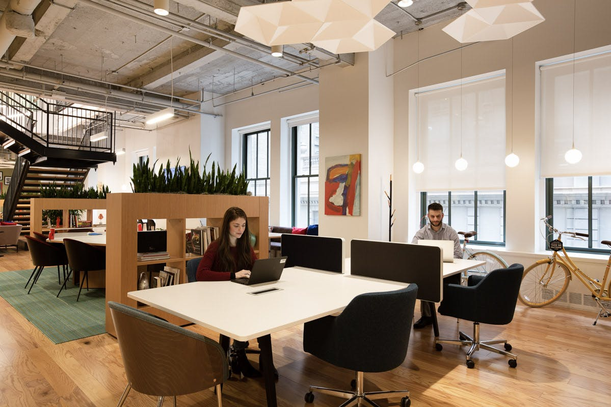 Work Better Grand Central coworking space in NYC