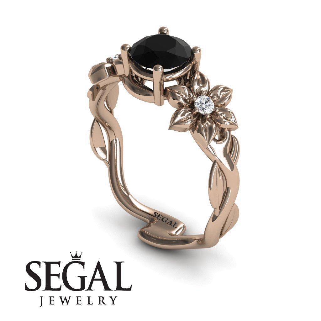 black diamond rings for women