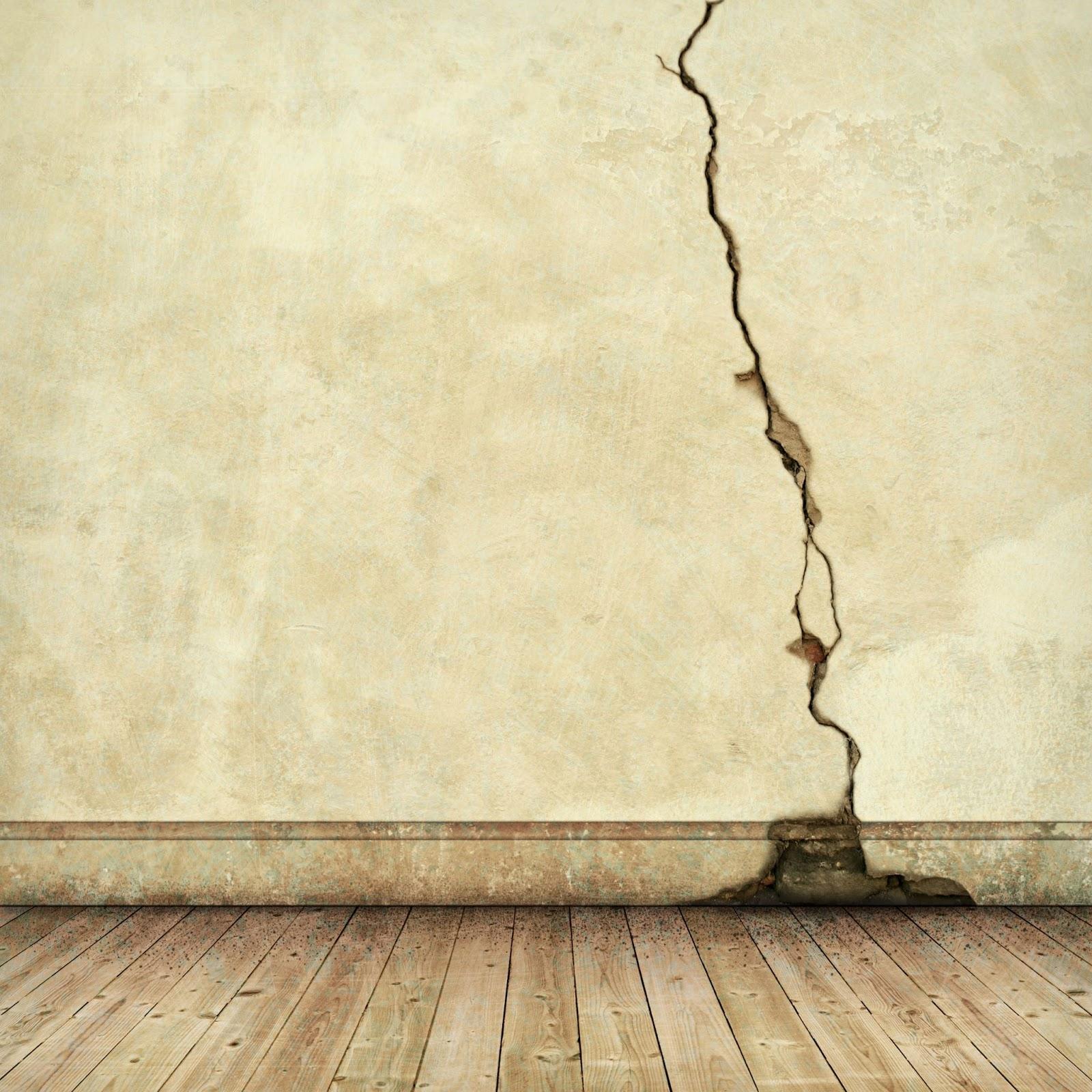 Sơn hiệu ứng Waldo-Hình ảnh minh họa tường bị nứt