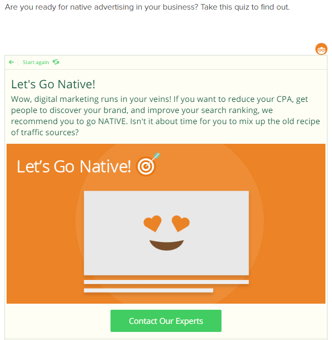 native advertising in your business