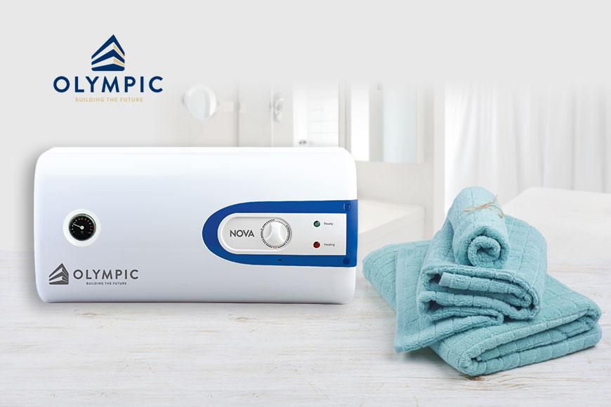 Bình nóng lạnh Olympic cung cấp nguồn nước sạch