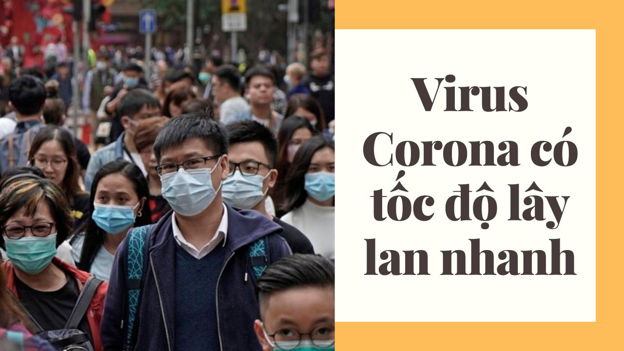 Virus Corona có thể lây qua đường hô hấp khi tiếp xúc, nói chuyện với người bị nhiễm
