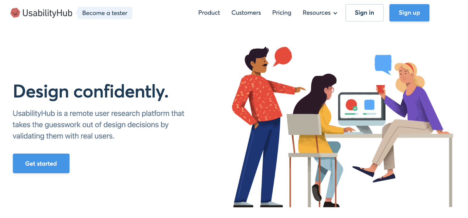 UsabilityHub: best tool for user testing