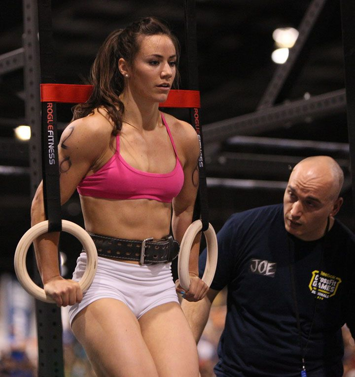 Camille Leblanc Bazinet (Cross-Fit & Weight-Lifting)