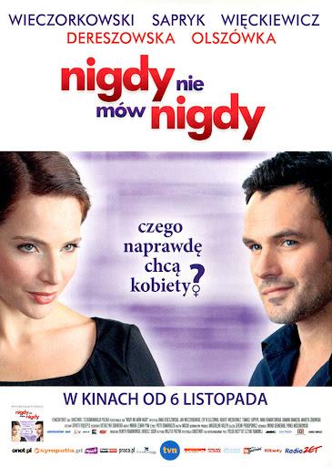 Przód ulotki filmu 'Nigdy Nie Mów Nigdy'