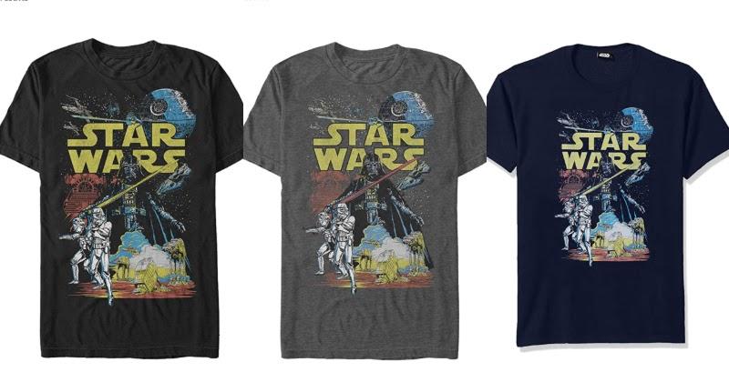 Dāvanas Star Wars faniem krekls