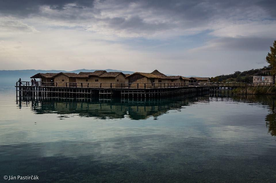 Múzeum na vode, Záliv Kostí, Ochrid