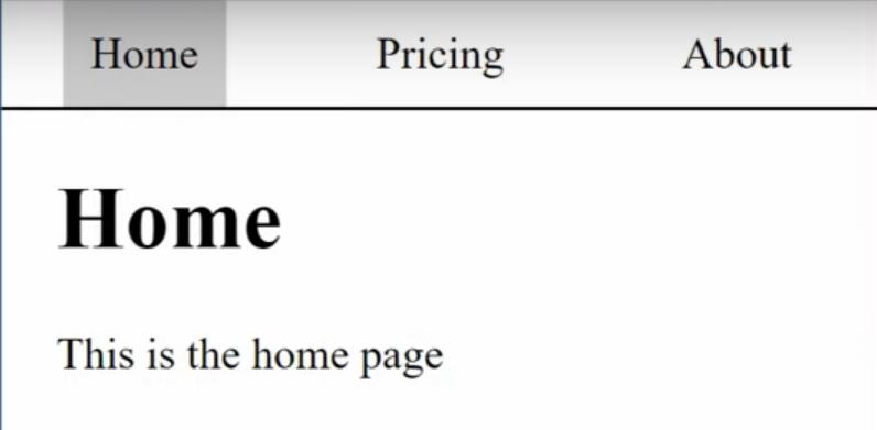 html tab