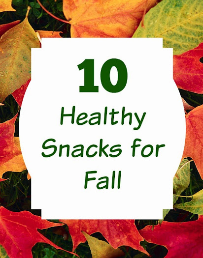 10 Healthy Fall Snacks