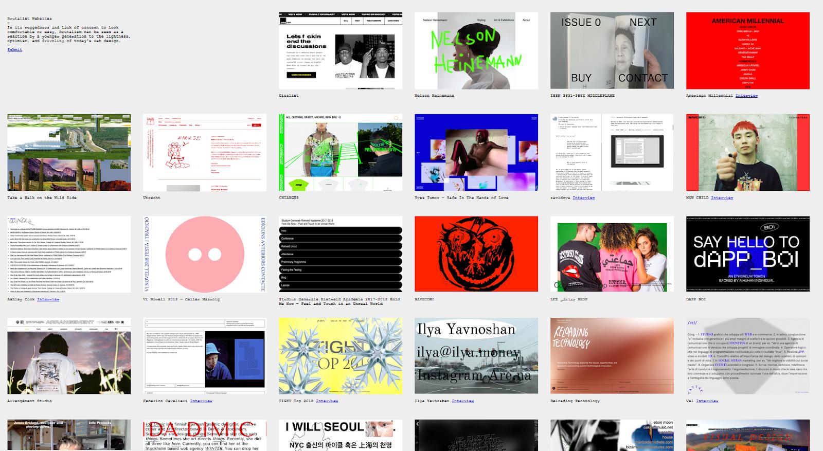 brutalistwebsites.com