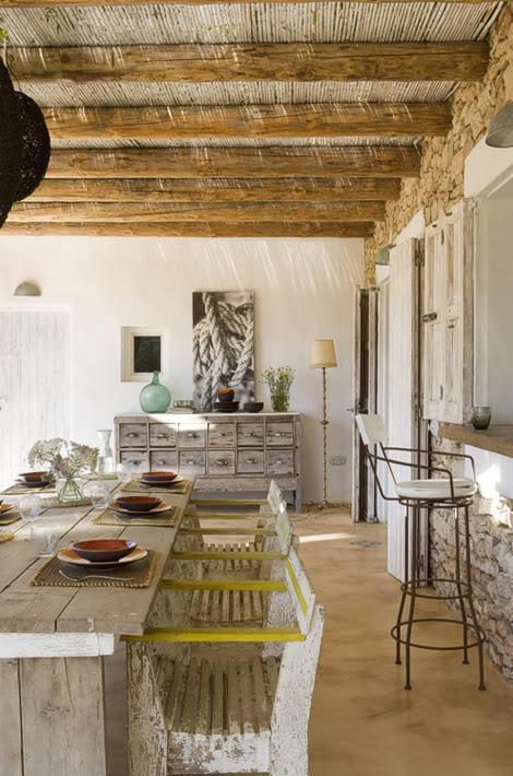 Mediterr neo interior principales caracter sticas y - Imagenes de comedores decorados ...
