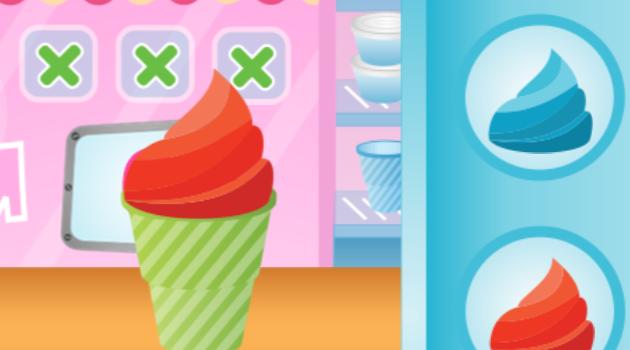 game làm kem