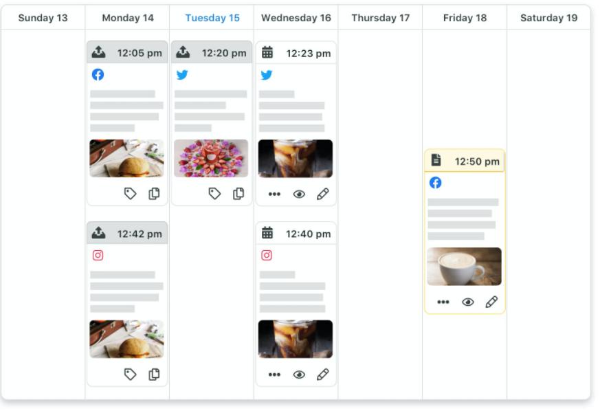 instagram content calendar  sprout social