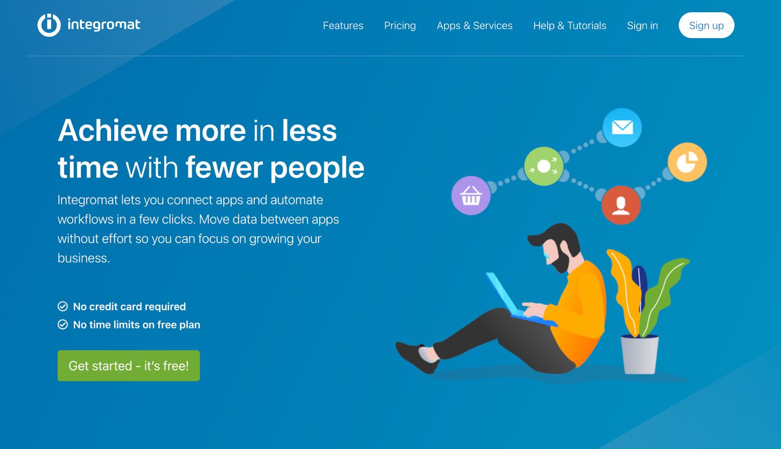 integromat homepage