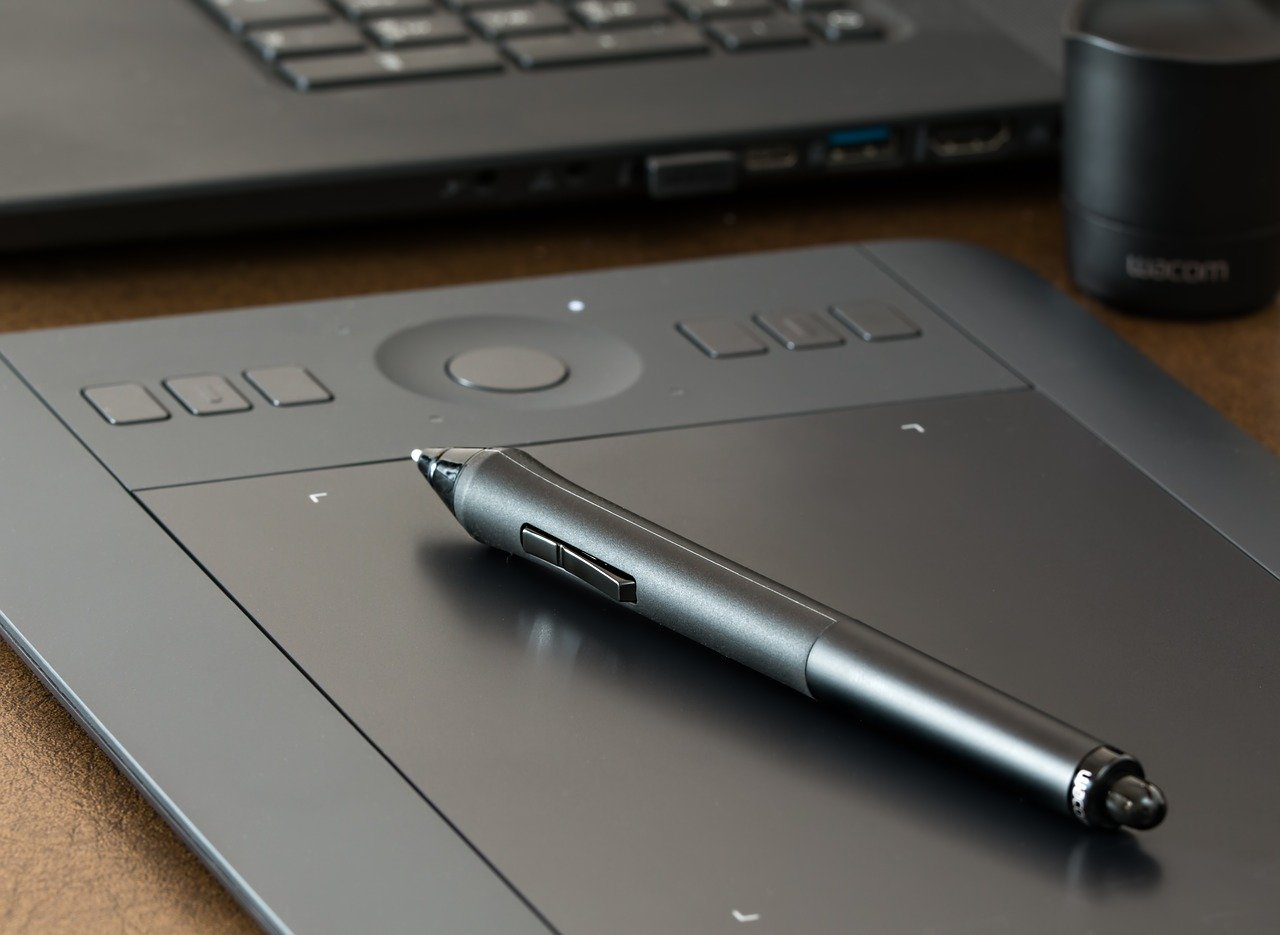 Graphics Tablet and Stylus pen