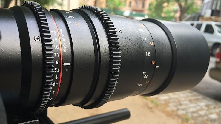 Cine Lens: Rokinon 100mm T3.1 Macro Cine DS Lens for Canon EF Mount