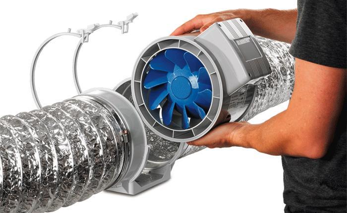 перегрев канального вентилятора