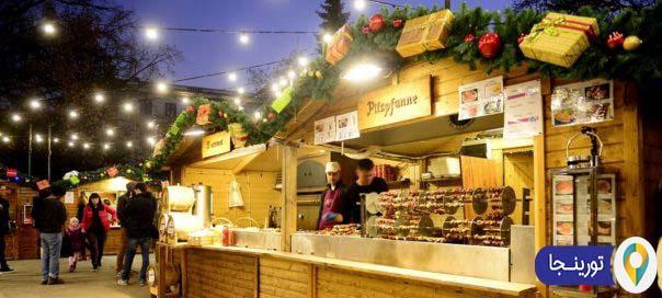 بازار کریسمس آلمانی