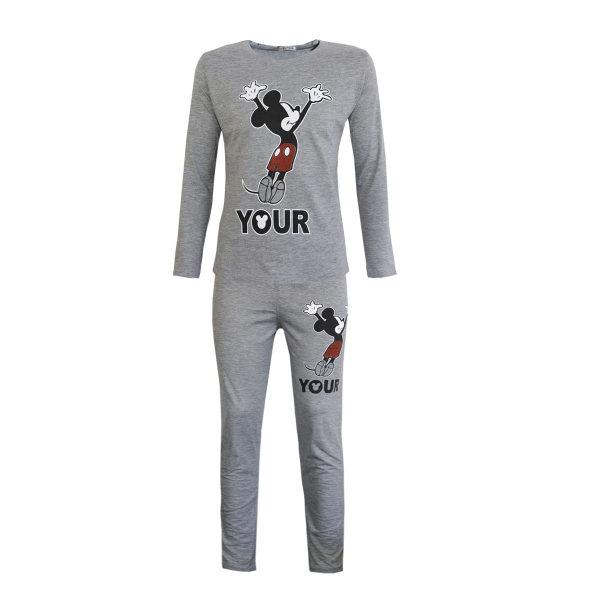 ست تی شرت و شلوار زنانه کد 100209170b