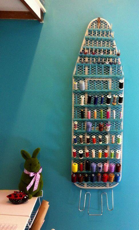 Ironing Board Thread Storage