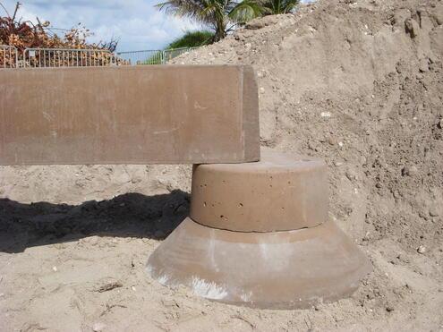permatrak precast concrete foundation and concrete pier system
