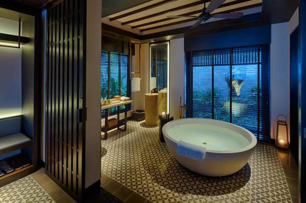 phòng ngủ resort hiện đại