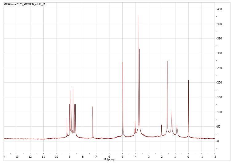 VRBPBurns2325ProtonNMRchloroform.JPG