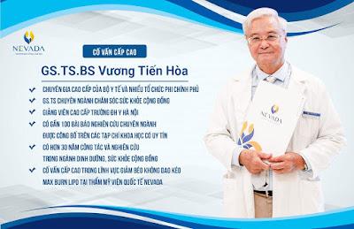 Chuyên gia, cố vấn cấp cao GS.TS.BS Vương Tiến Hòa