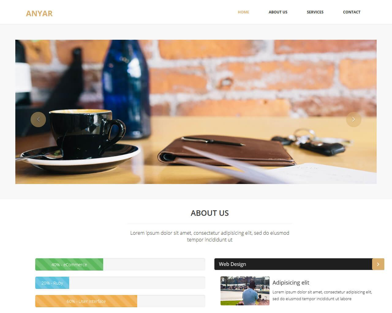 Anyar – Free Multipurpose One Page Bootstrap Theme | BootstrapTaste