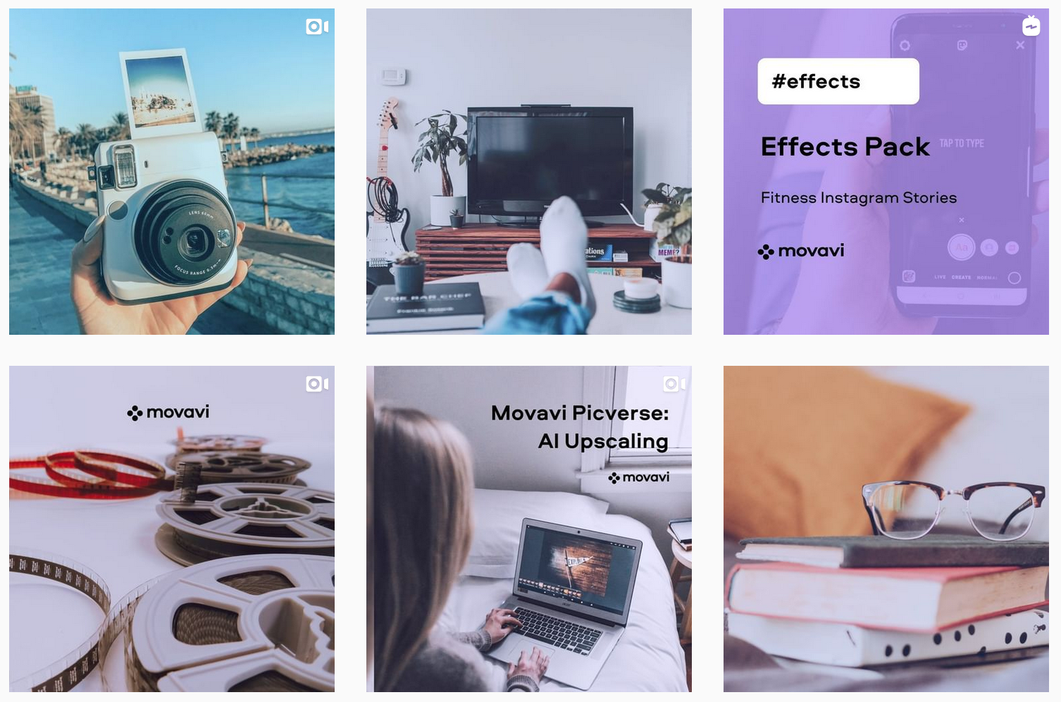 Movavi Software | Instagram Feed | Software Brands Featured on Afluencer