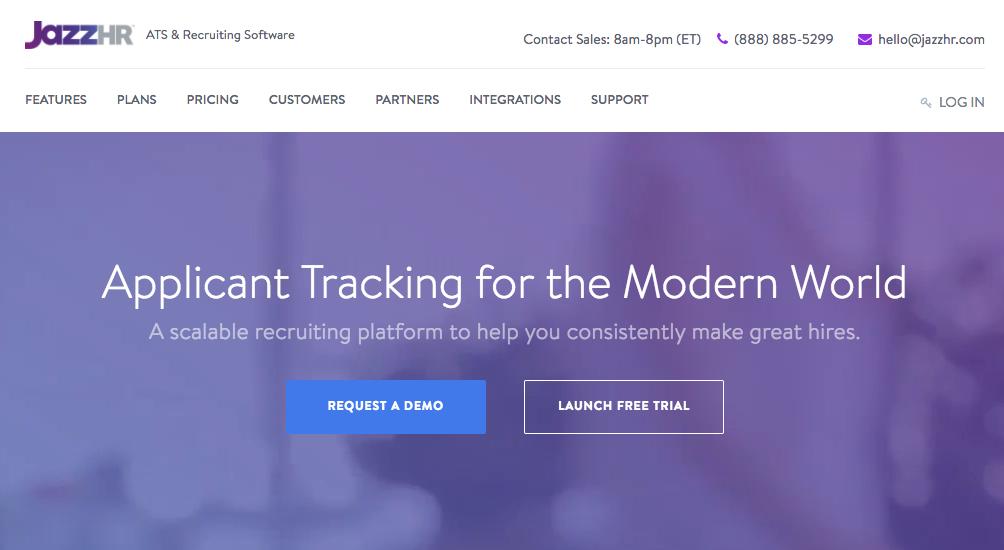 JazzHR Hiring Platform