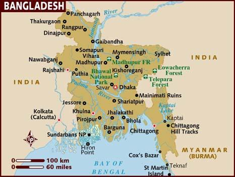 Image result for bangladesh map