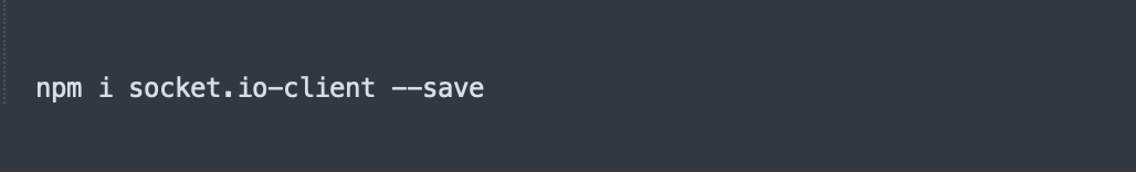 install socket io client plugin
