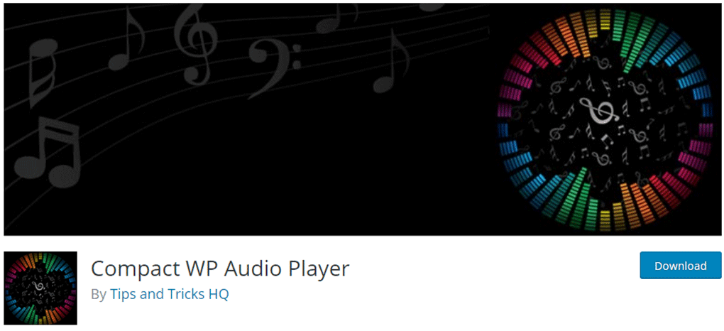 plugin compact wp audio player para wordpress